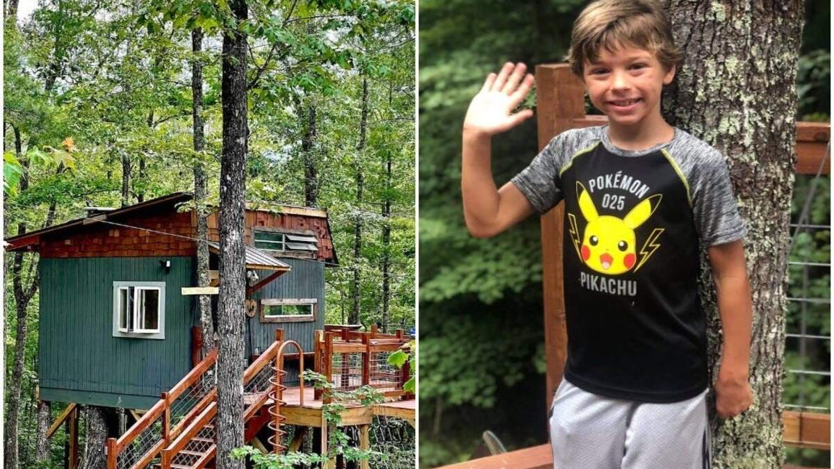 Хлопчик спроєктував будинок на дереві та здає його в оренду: мета – допомагати дітям - Тренди
