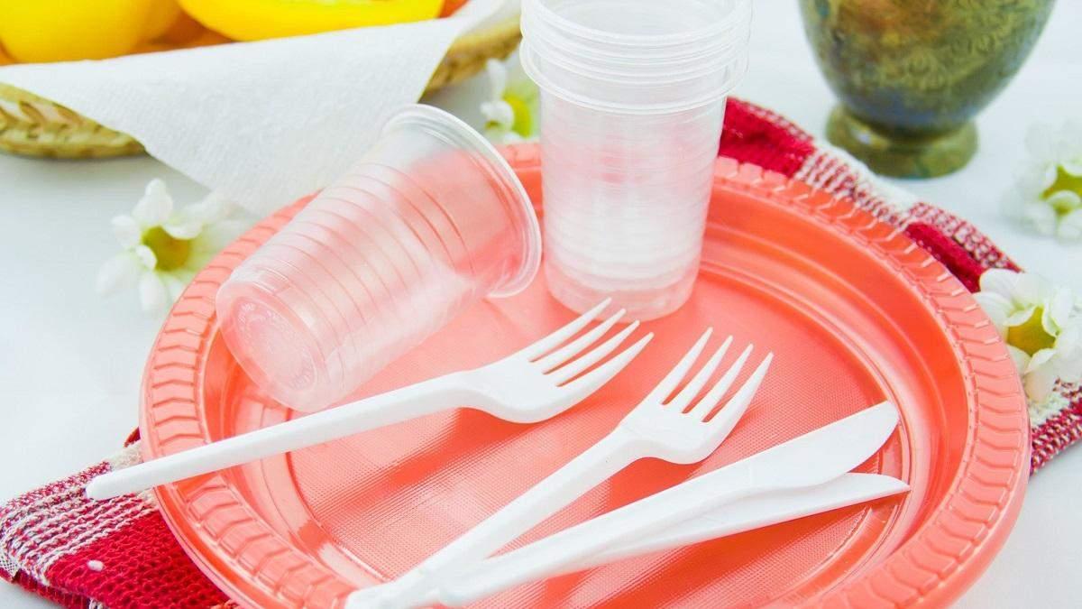 За використання пластикового посуду в Україні каратимуть штрафом до 170 тисяч гривень - Тренди