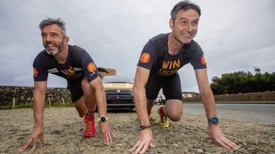 Двоє чоловіків протягли авто понад 40 кілометрів для благодійного челенджу
