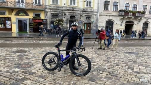Road To Ukraine: велосипедист подолає 2 500 кілометрів, щоб допомогти дітям