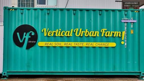 Перша в Україні: у Дніпрі з'явилася вертикальна зелена ферма