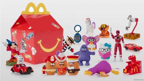 McDonald's переходить на екологічні іграшки в Хеппі Міл