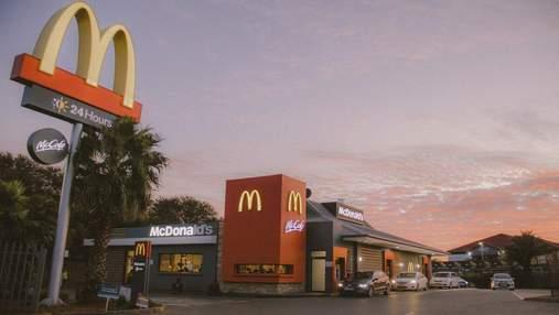 В Україні відкрився перший ресторан McDonald's вздовж автотраси